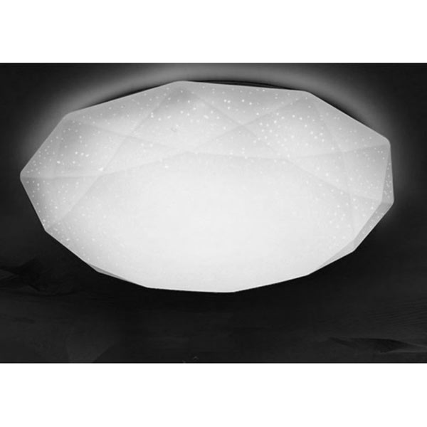 Plafoniera LED Diamond, 18W, 4000K, IP20, lumina neutra, forma diamant