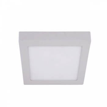 Spot LED patrat, aparent, 220V, 12W, IP40, 4000K, lumina neutra
